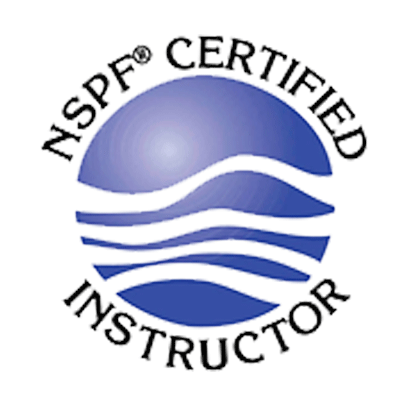 NSPF Certified Pool & Spa Operator Logo
