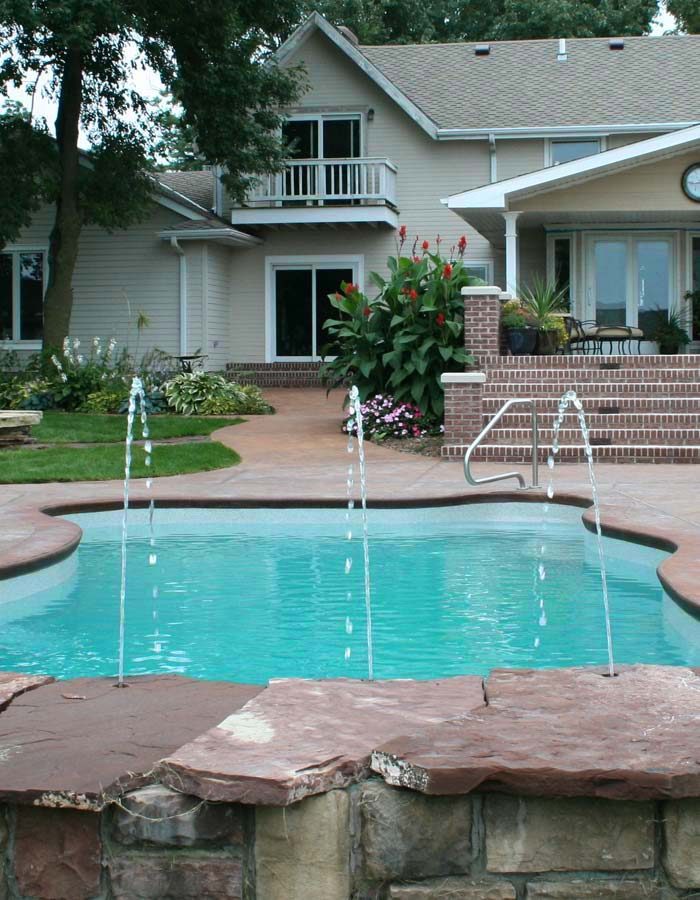 Home omaha pool builder for Pool design omaha