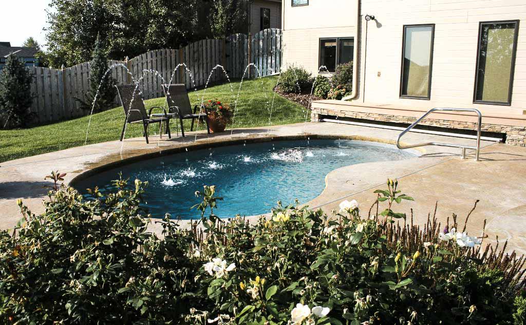 aloha fiberglass pool
