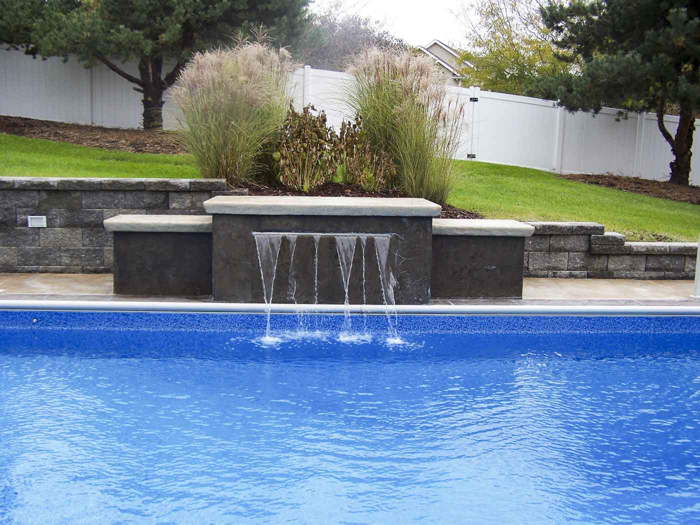 Aquatech vinyl pool