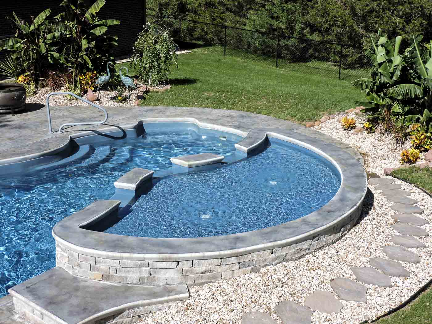 Inground Fiberglass Pools The Best Quality Home Design