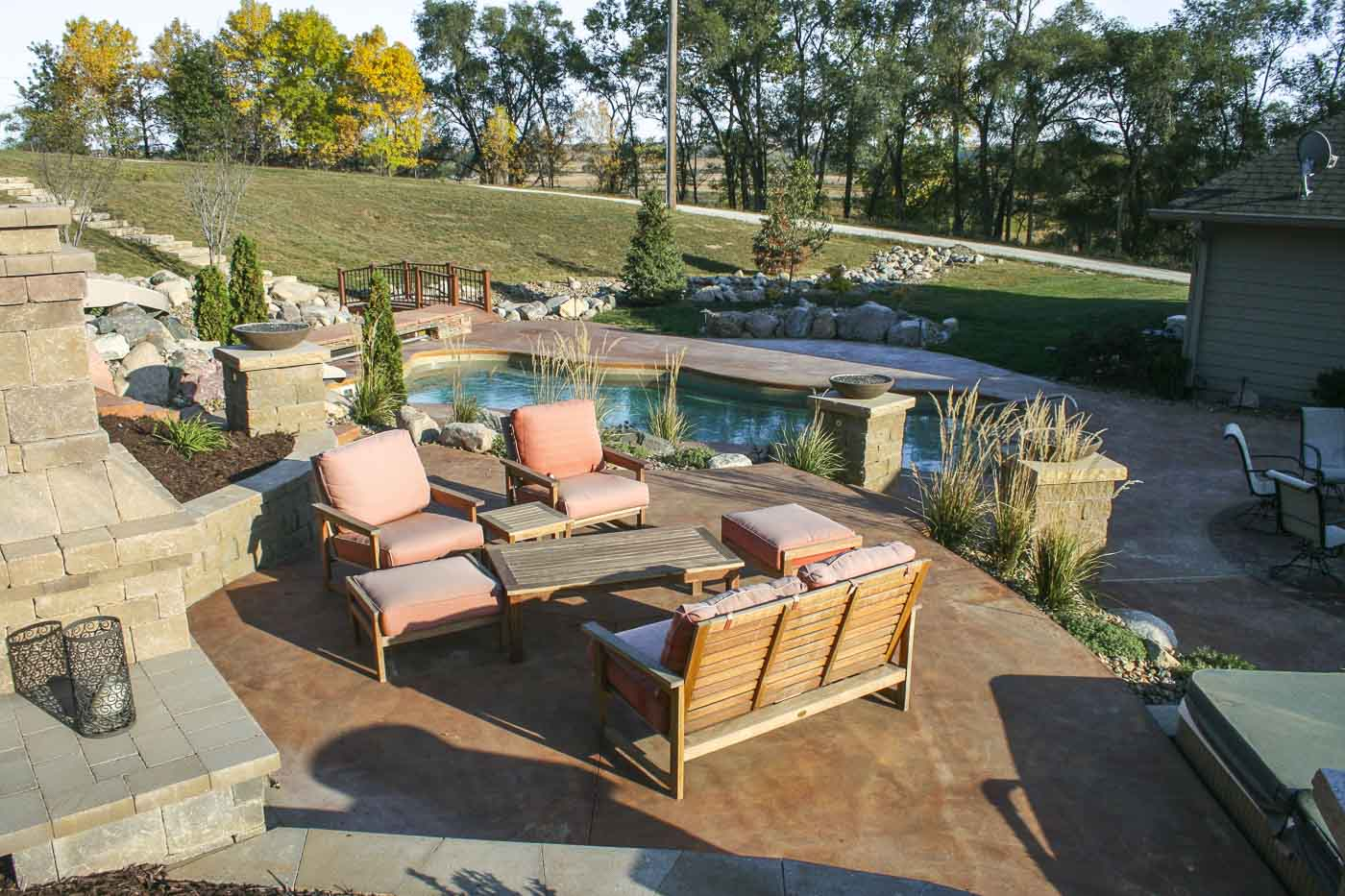 lexington fiberglass pool