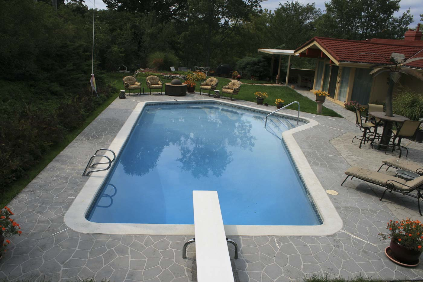 shotcrete outdoor pool
